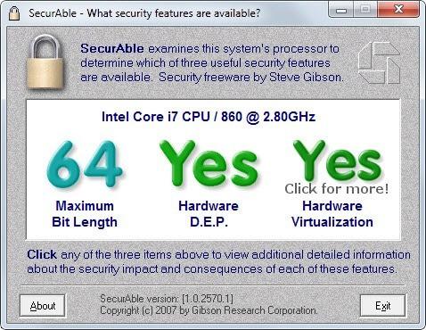 hardware virtualization support