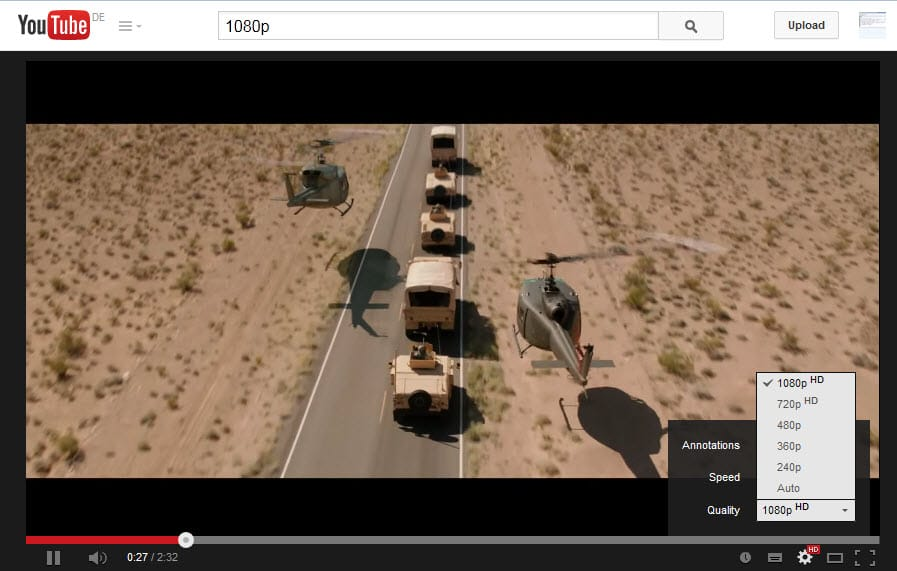 How to play 1080p videos on YouTube in Firefox - gHacks Tech News