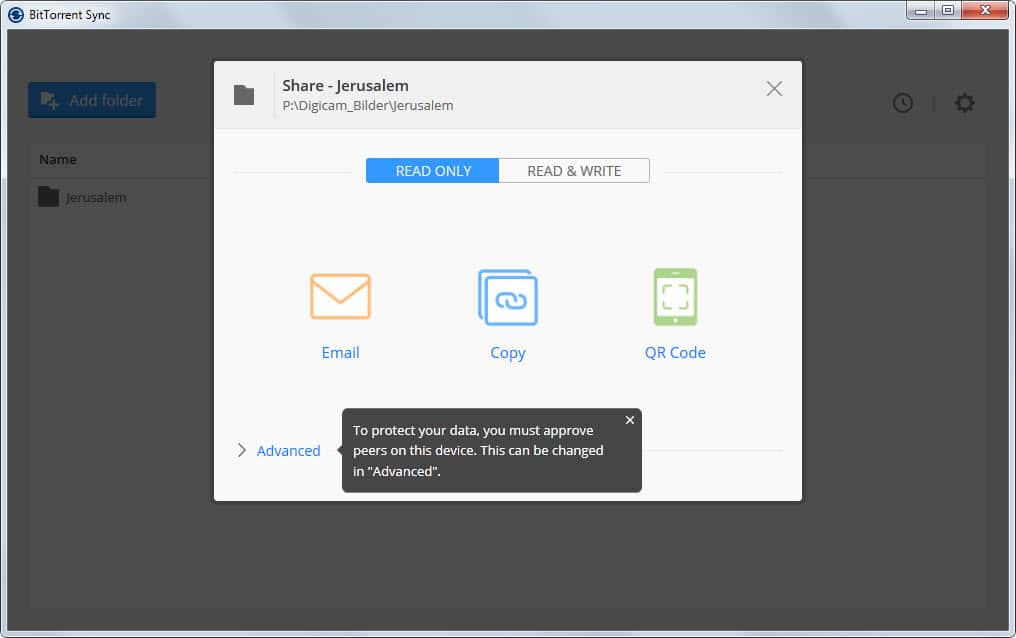 bittorrent sync file sharing