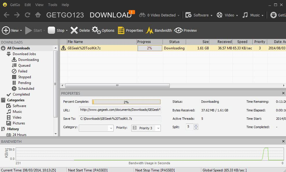 How to download large files (best download managers