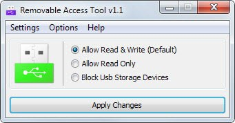Control external device access rights on Windows PCs - gHacks Tech News Removable Access Tool (Ratool) is a portable program for the Windows  operating system that provides you with controls to manage the access  rights of ...