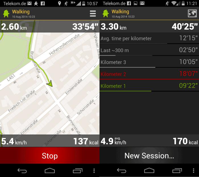 runbot steps tracking app
