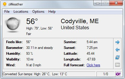 The best desktop weather programs for Windows