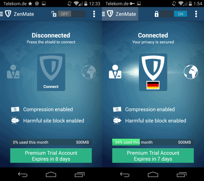 Zenmate launches Android VPN app that extends its VPN