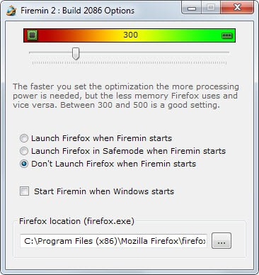 Tools to optimize the Memory Usage of Firefox and Chrome