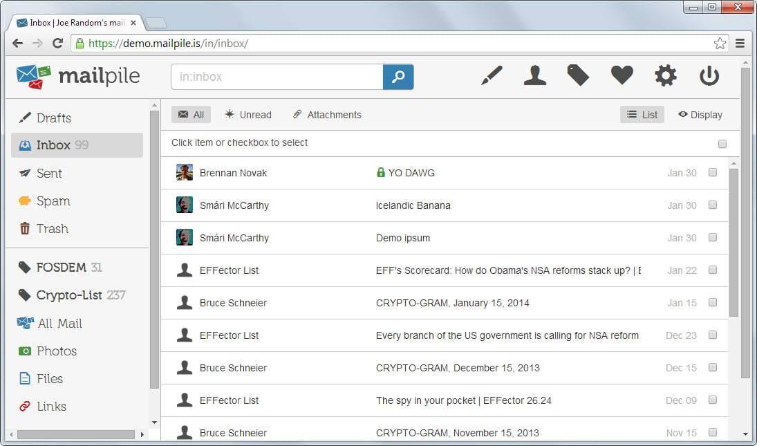 mailpile beta