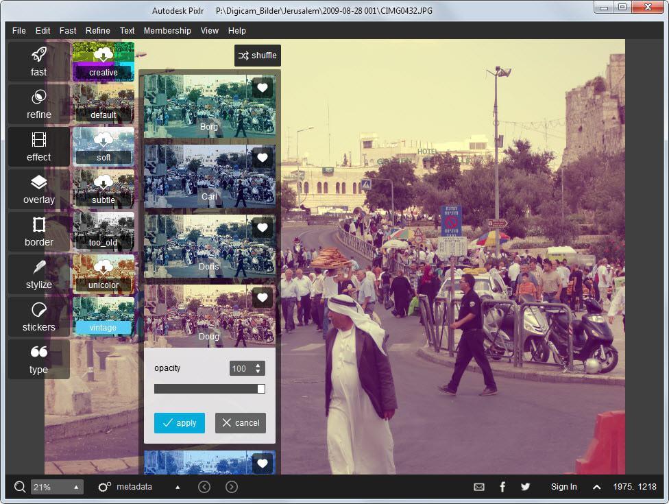Popular Photo Editing App Pixlr Now Available For Desktop Ghacks