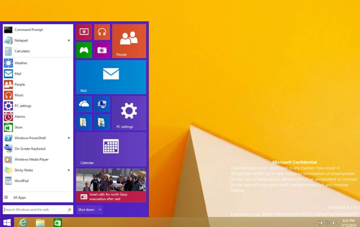 What the leaked Windows 9 screenshots reveal about the operating system