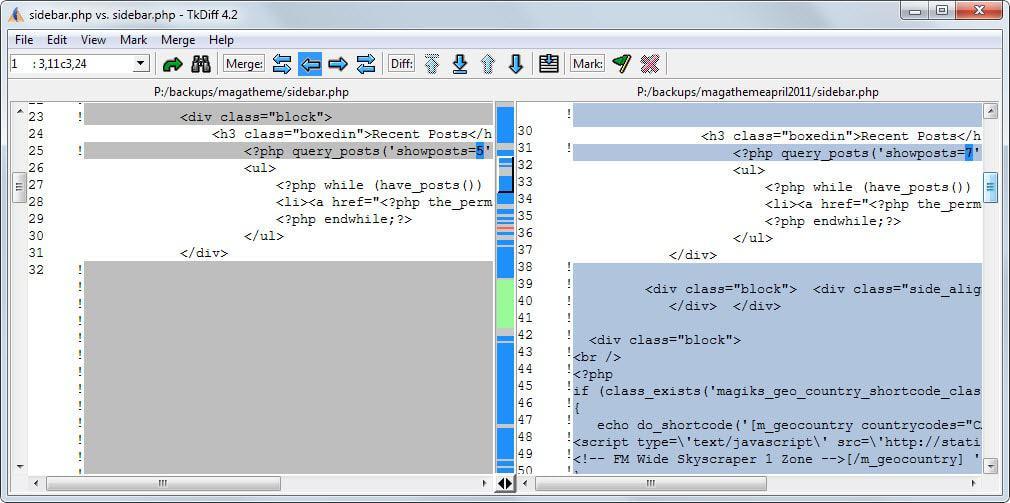 The best free file comparison programs for Windows - gHacks Tech News