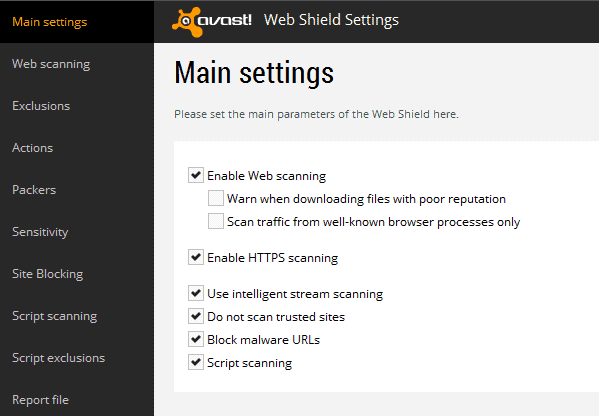 Avast\u0027s HTTPS Scanning interferes with Firefox and other programs