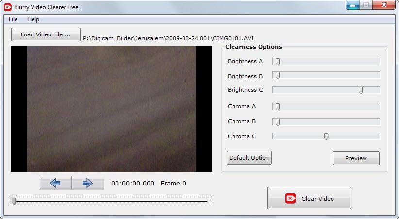 blurry video clearer free