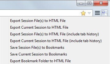 firefox export sessions