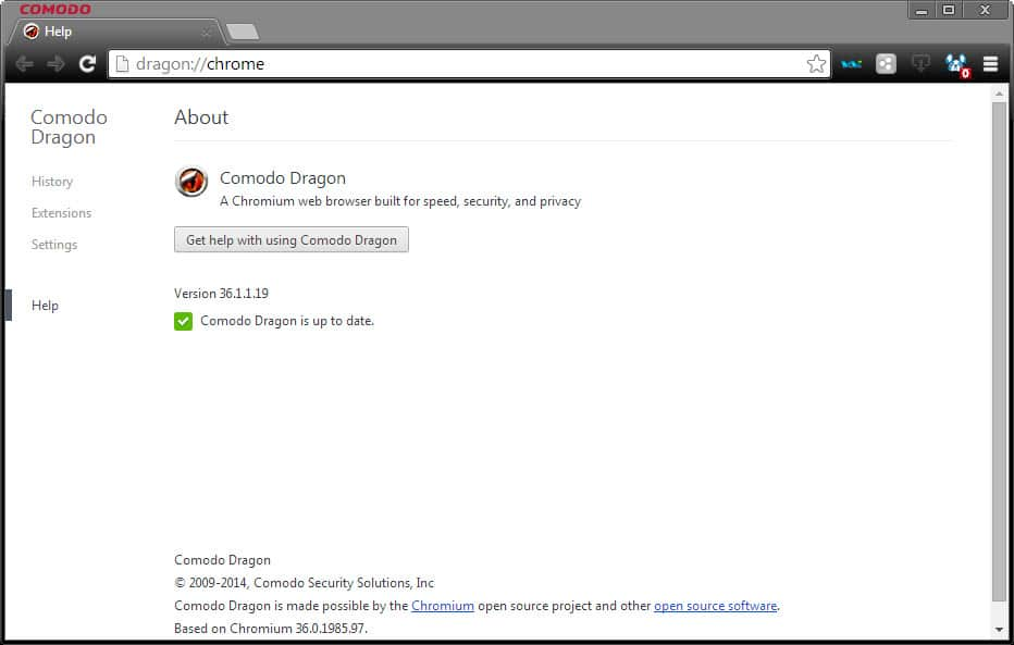Comodo promises faster Dragon browser updates