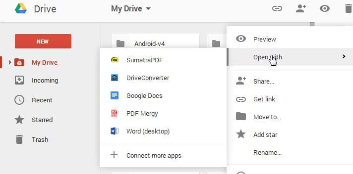 google drive load files locally