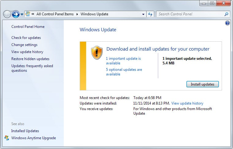 ms14-068 windows patch