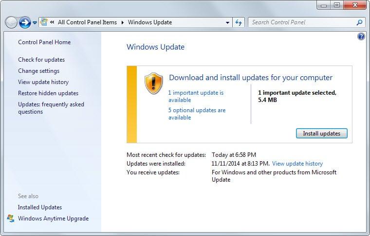 ms14-068 windows patch
