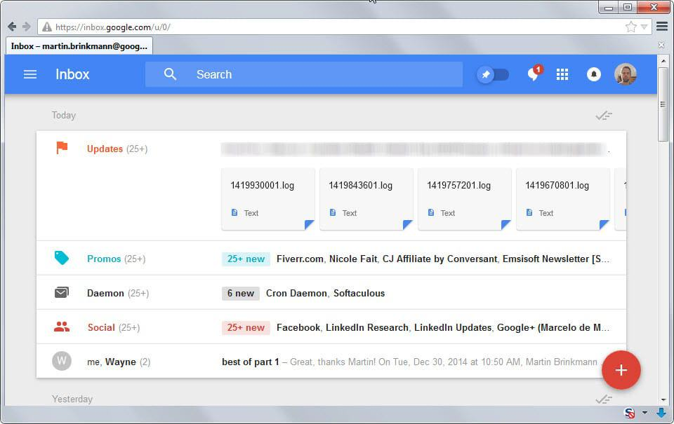 Google terminates Google Inbox service