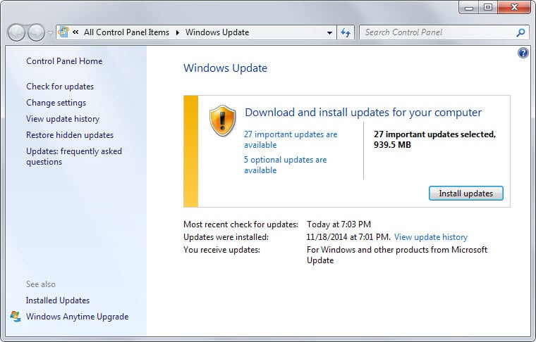 security updates december 2014 microsoft windows