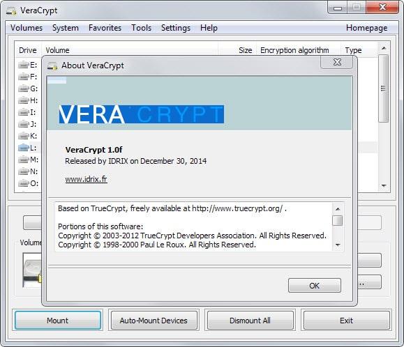 veracrypt update