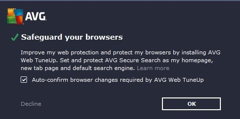 The majority of free antivirus solutions ship with adware