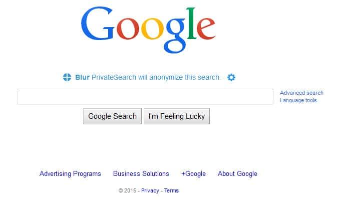 blur search