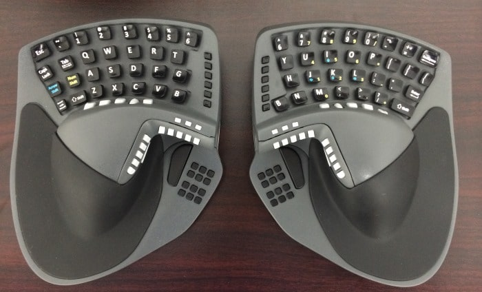 KeyMouse, a keyboard-mouse hybrid for both hands seeks funding on Kickstarter