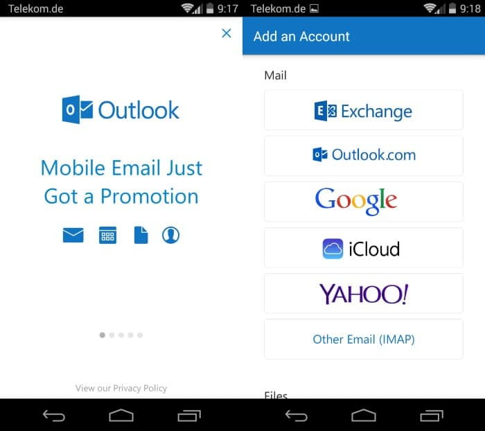 Microsoft Outlook Preview for Android and iOS is now