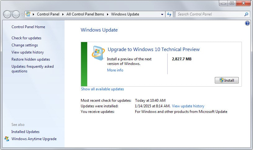 How to update windows 7 or 8 to windows 10 using windows update how to update windows 7 or 8 to windows 10 using windows update ccuart Image collections