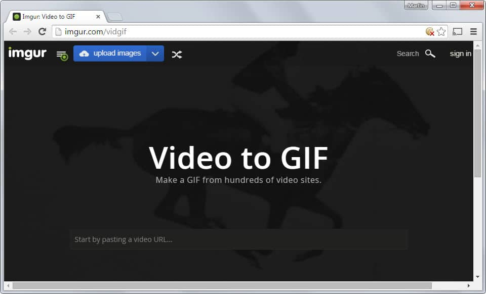 Imgur launches Video to Gif service