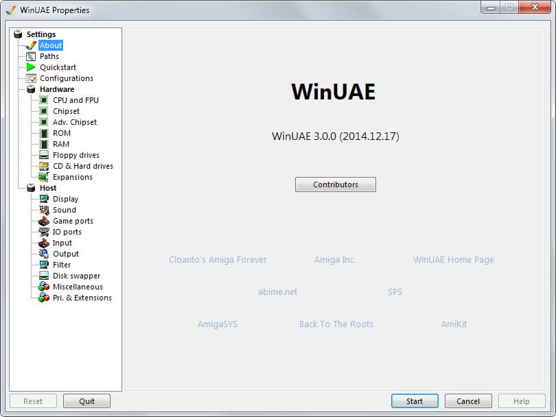 Commodore Amiga Emulator WinUAE 3 0 0 available - gHacks