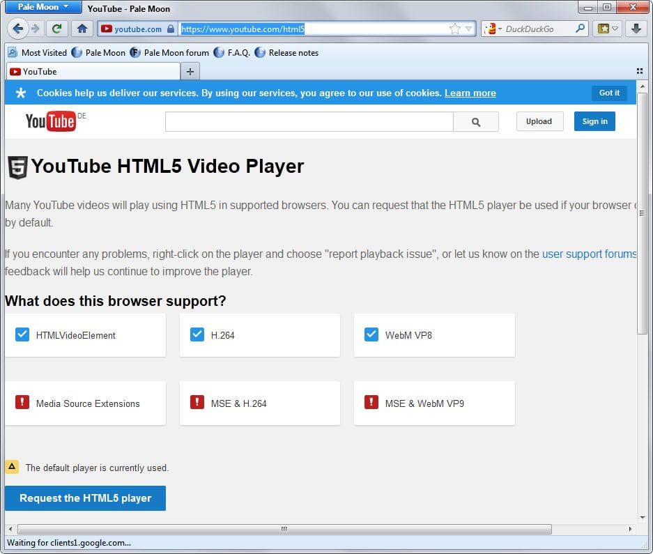 youtube html5 video