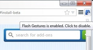 flash gestures