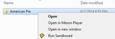 open meson player