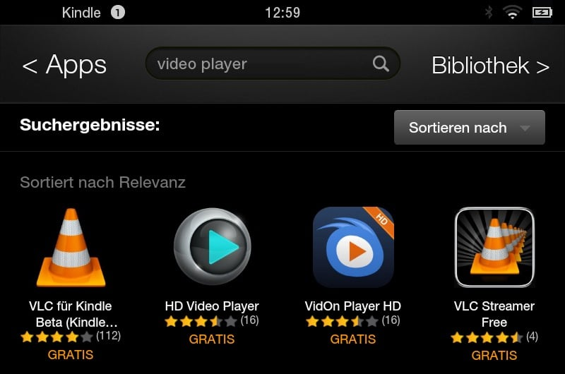 vlc for kindle