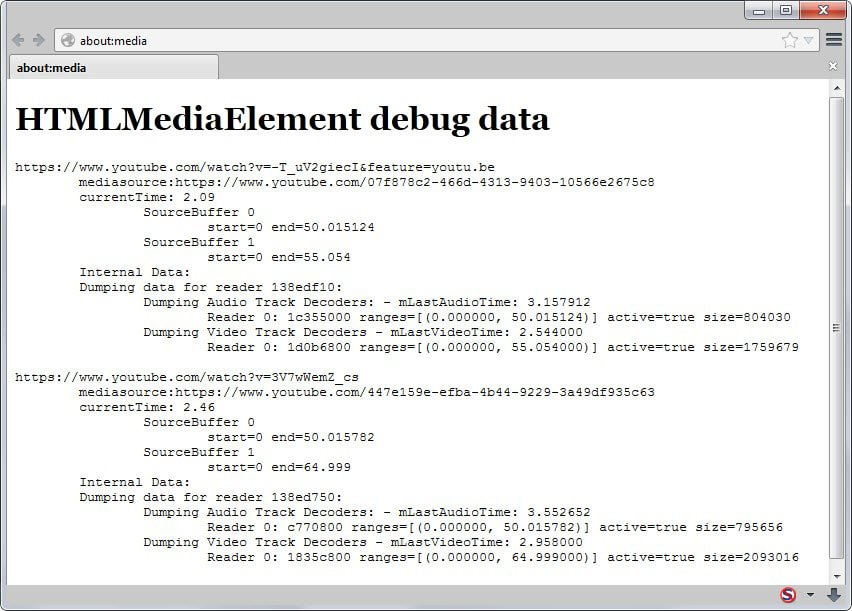 Firefox mse