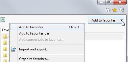 internet explorer export bookmarks