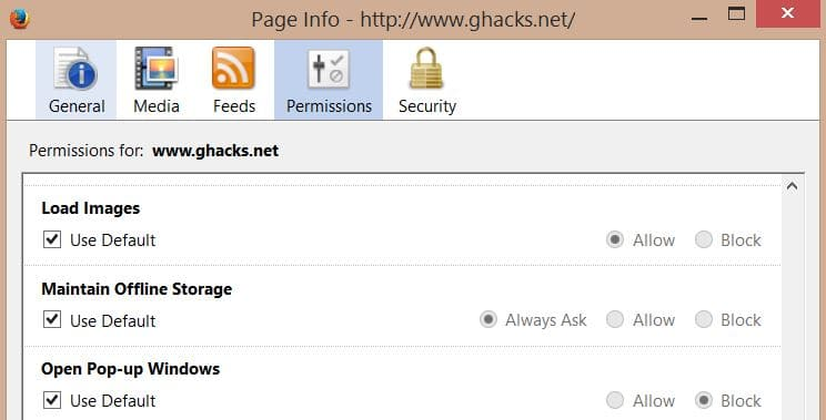 How to turn off images in Firefox - gHacks Tech News