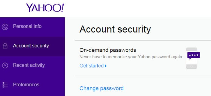 on-demand passwords