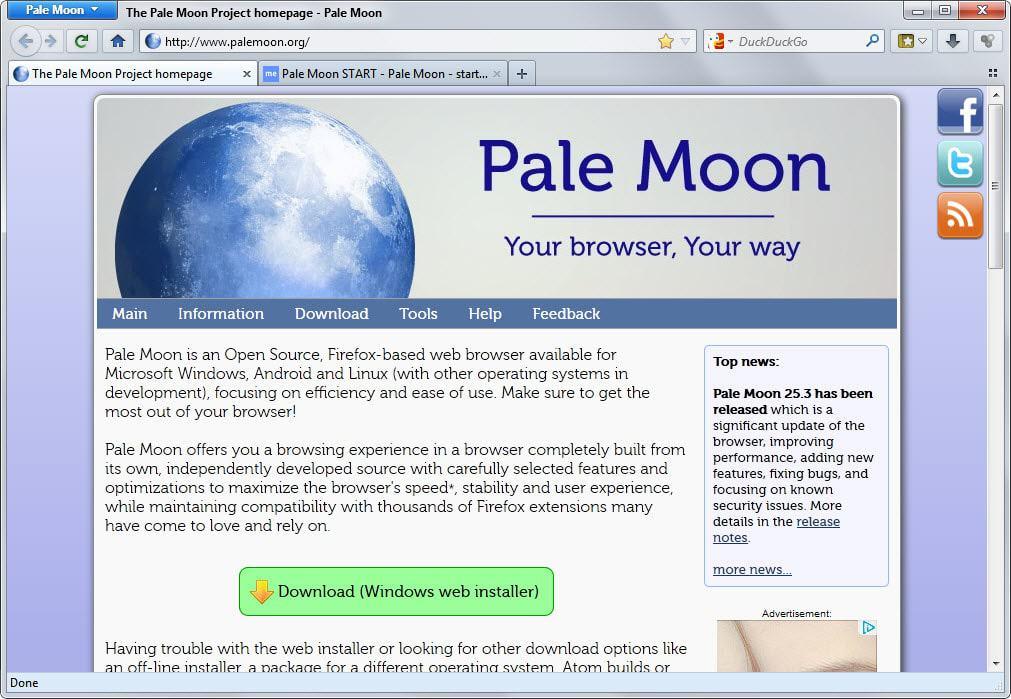pale moon 25.3
