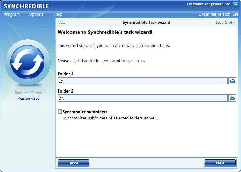 What's the best free file synchronization software for Windows?