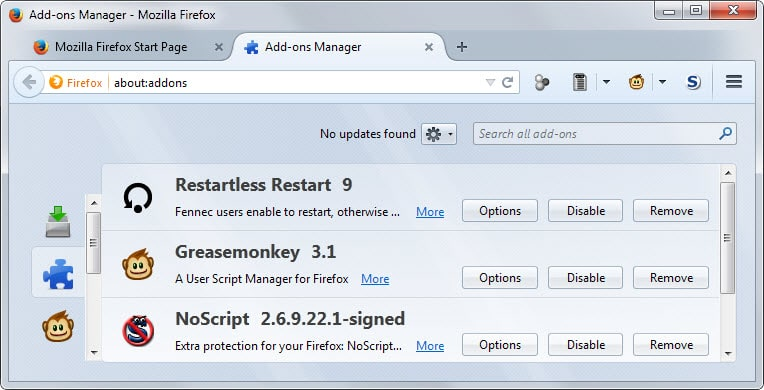firefox add-on signing