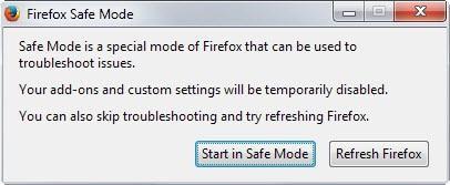 firefox safe mode