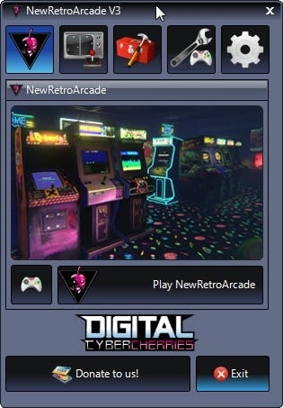NewRetroArcade brings a virtual reality arcade system to