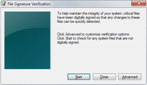 sigverif file signature verification