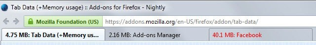 What you do when Firefox uses too much memory
