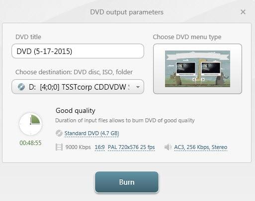 dvd output