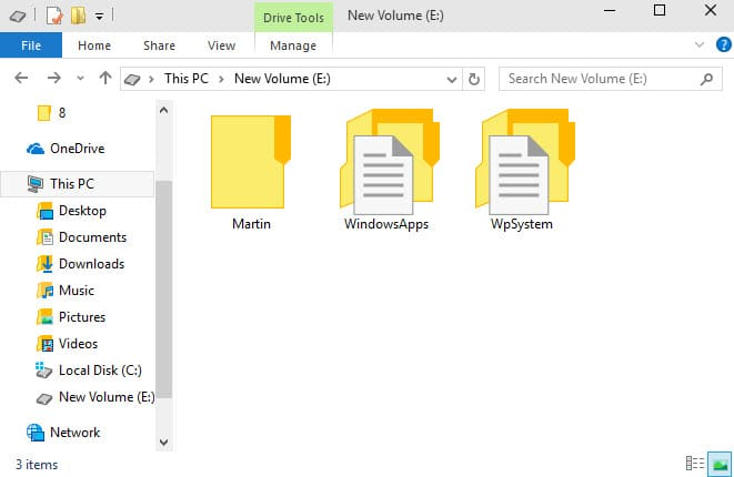 How to move Windows 10 apps to another drive to save space