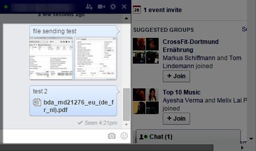 send files facebook