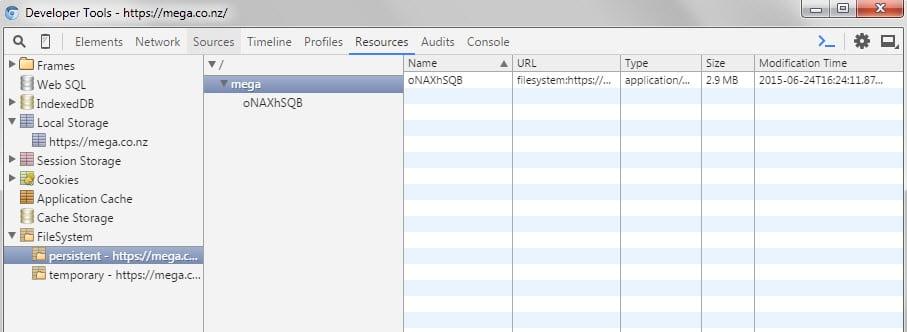chrome explore file system