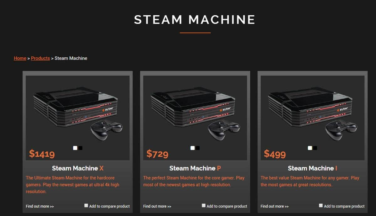 cyber steam machine